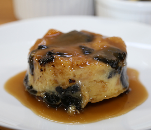 Toffee Bread Pudding Made with OREO Cookie Pieces Recipe