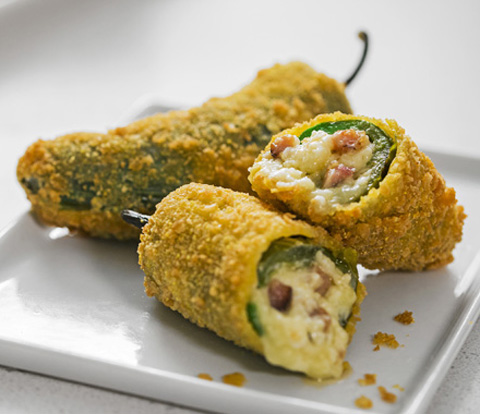 Pulled Pork and Cheese Stuffed Jalapeno Poppers Made with RITZ Crackers Recipe