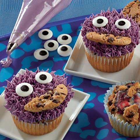 Purple Monster Cupcakes Recipe
