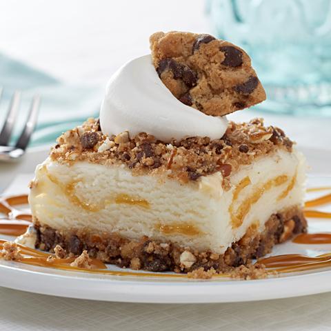 Salted Caramel Ice Cream Squares Recipe