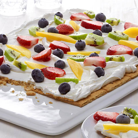 "HONEY MAID Fruit & Yogurt ""Bark"" Recipe"