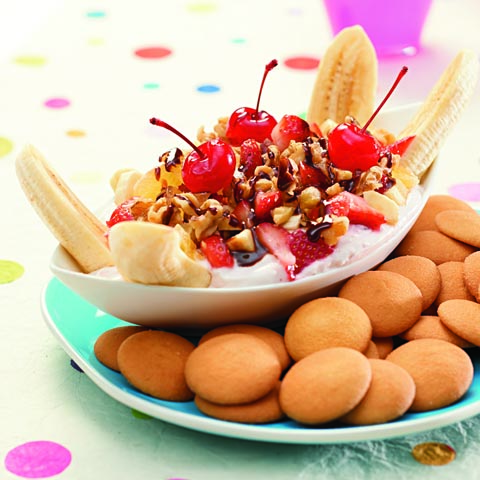 NILLA Banana Split Dip Recipe