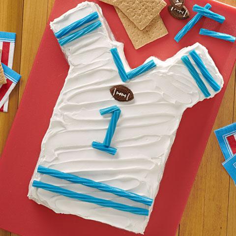 """HONEY MAID Football Jersey """"Cake"""" Recipe"""