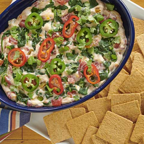 Slow-Cooker Mexican Spinach Dip Recipe