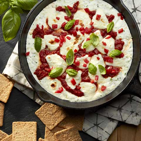 "Margherita ""Pizza"" Dip Recipe"