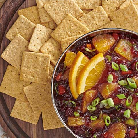 Spicy Cranberry Salsa Recipe