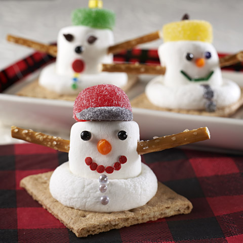 HONEY MAID Melting Snowmen Recipe