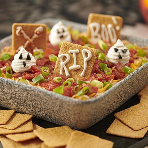 WHEAT THINS Graveyard Taco Dip Recipe