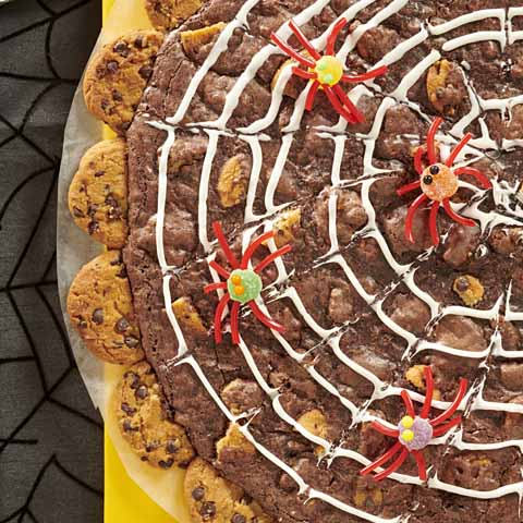CHIPS AHOY! Spiderweb Brownie Recipe
