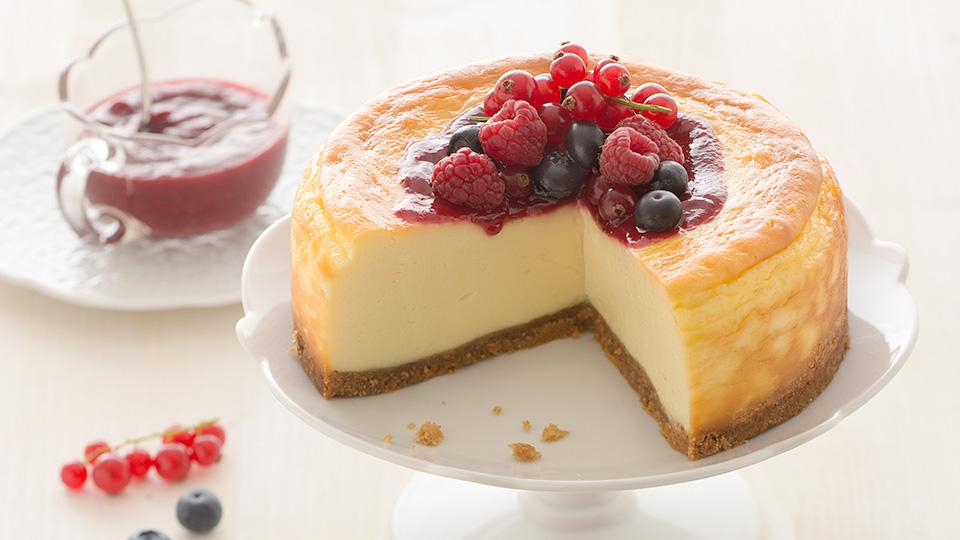 Ricetta Cheesecake Cotta.Philadelphia Recipe New York Cheesecake