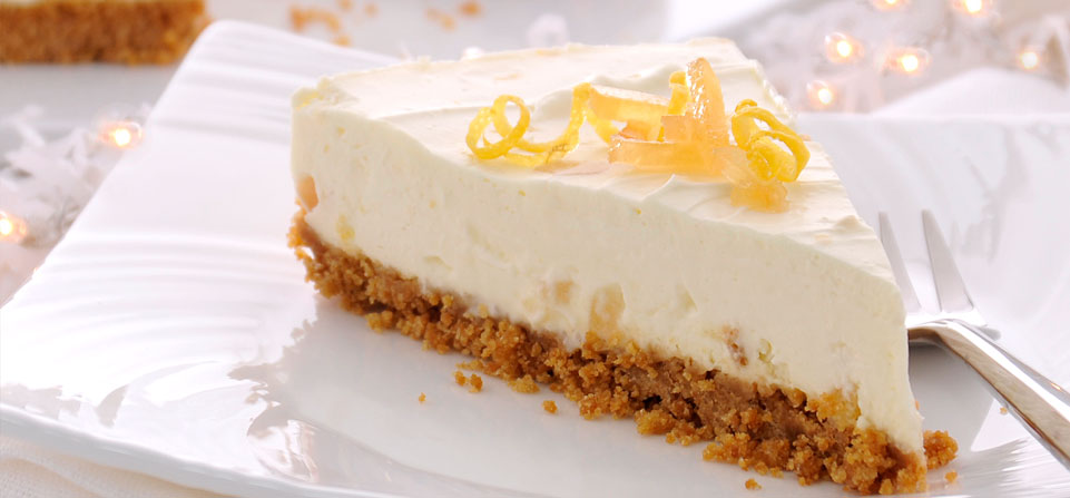 Philadelphia Recipe - Philly Lemon and Ginger Cheesecake