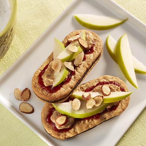 belVita Chocolate Sandwich with Fruit & Nuts Recipe