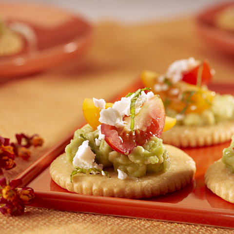 RITZ Tomato, Avocado & Feta Topper Recipe