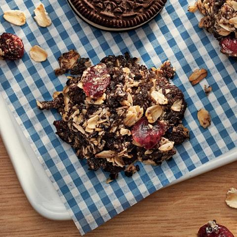 "OREO No-Bake ""Granola"" Clusters Recipe"