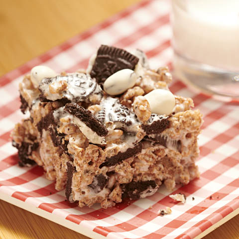 OREO No-Bake Crunch Bars Recipe