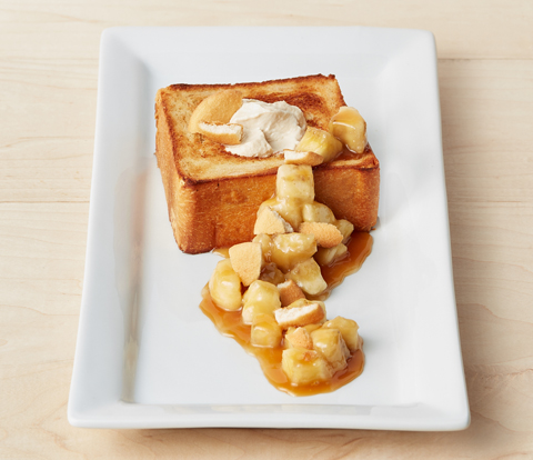 Banana Brick Toast with NILLA Wafers Recipe