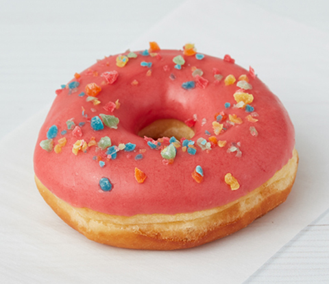 Donuts made with SOUR PATCH KIDS Candy Pieces Recipe