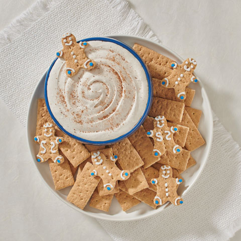 "Gingerbread ""S'more"" Dip Recipe"