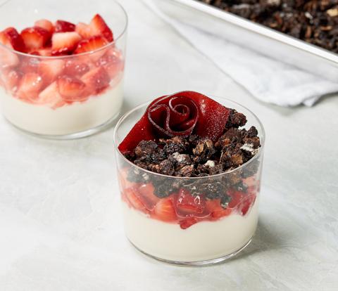 Chocolate Granola Parfaits made with OREO Recipe