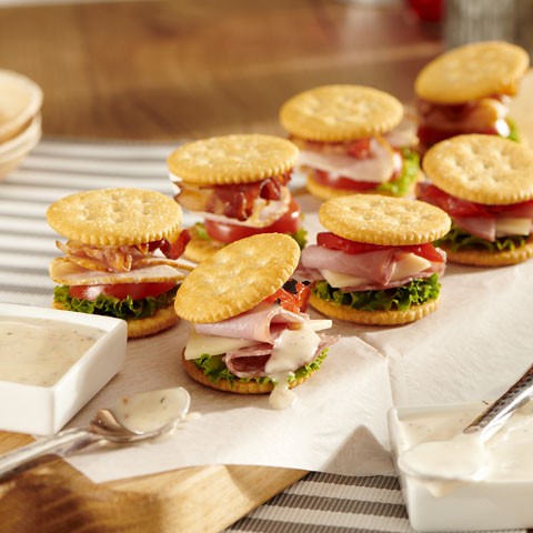 "RITZ Deli ""Sandwiches"" Recipe"