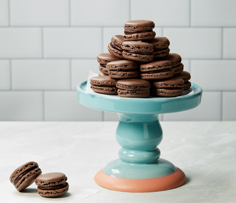 Chocolate Macarons made with OREO Cookies Recipe