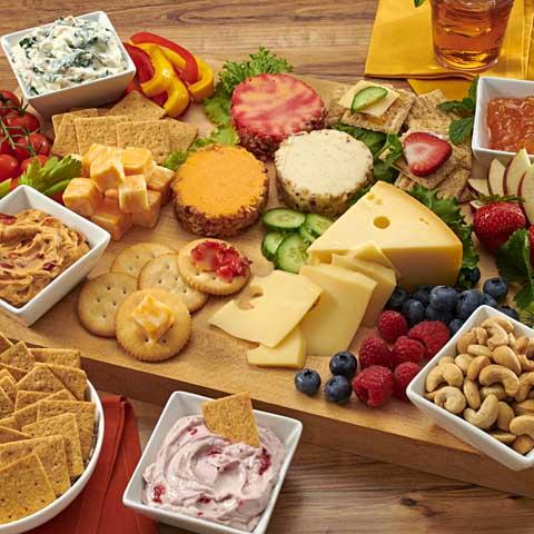 Casual Cheese & Dip Board Recipe