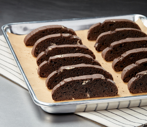 Chocolate Biscotti made with OREO Cookies Recipe