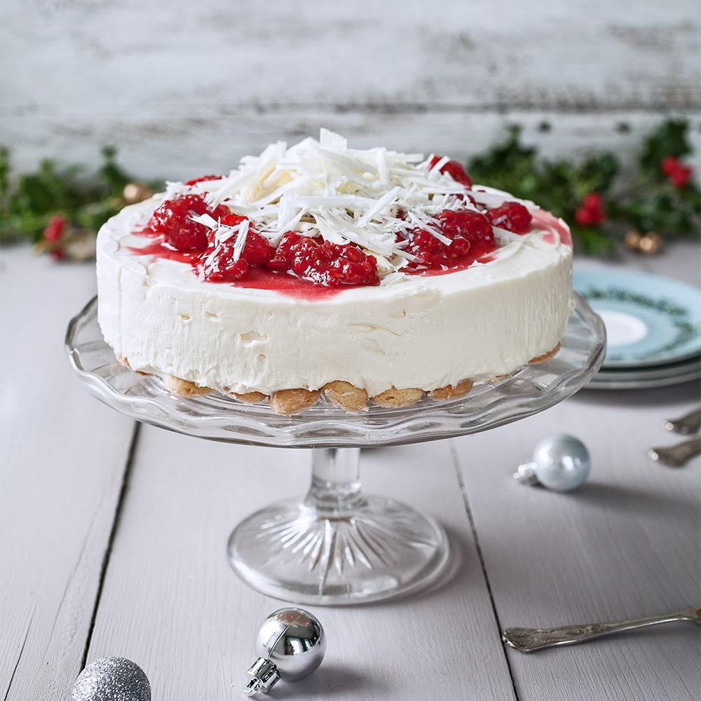 Philadelphia Recipe White Choc Raspberry Cheesecake
