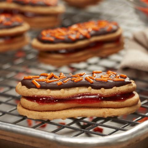 NUTTER BUTTER PB&J Cookies Recipe