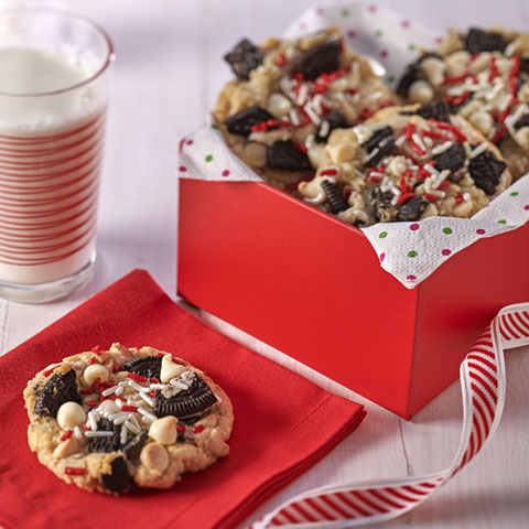 OREO Sugar Cookies with White Chocolate Chips Recipe