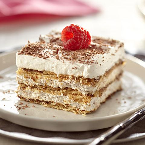 """HONEY MAID Tiramisu """"Cake"""" Recipe"""
