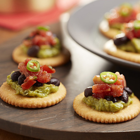 4-Layer RITZ Mexican Toppers Recipe