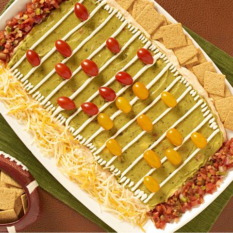 Trempette de type «taco» avec craquelins FINS AU BLÉ Recipe