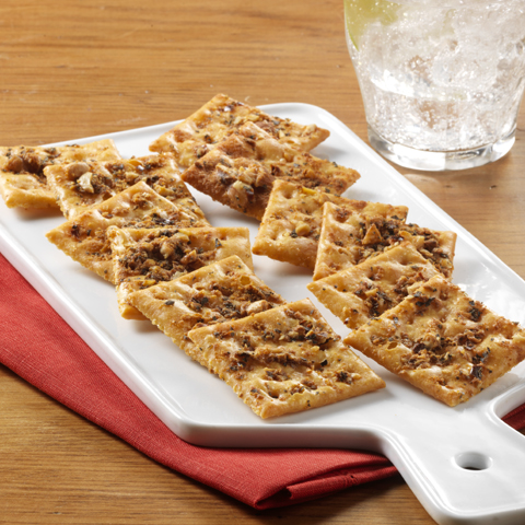 Spicy Nut-Crunch PREMIUM PLUS Crackers Recipe