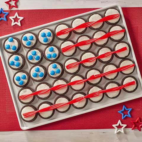 OREO Cookie Flag Recipe