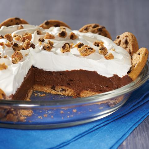 Tarte au chocolat, au beurre d'arachide et aux biscuits CHIPS AHOY! Tendres Recipe