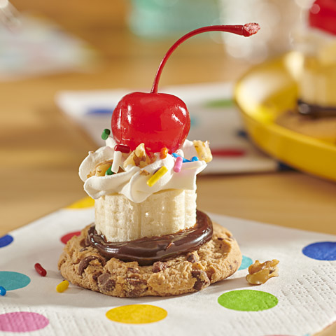Banana Split-Topped CHIPS AHOY! Recipe