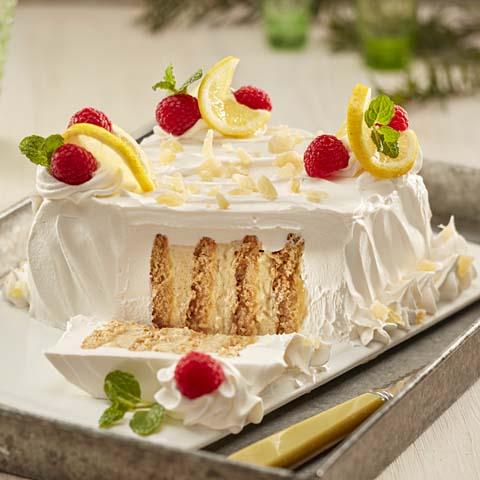 """Lemon-Ginger Spice """"Cake"""" Recipe"""