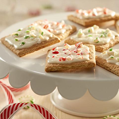 Peppermint Crunch Grahams Recipe