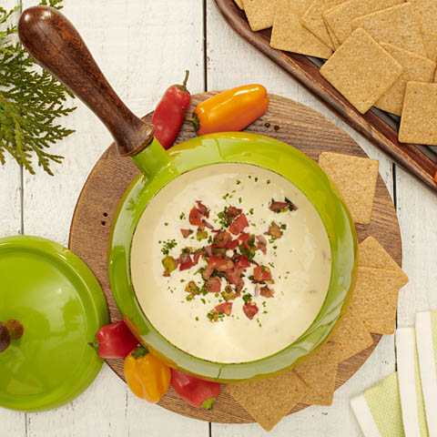 Holiday White Queso Dip Recipe