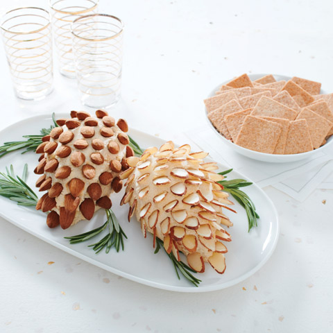 Gruyere Pinecone Spread Recipe
