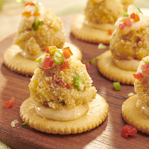 RITZ-Coated Crab Poppers Recipe