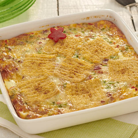 TRISCUIT Bacon & Swiss Bake Recipe