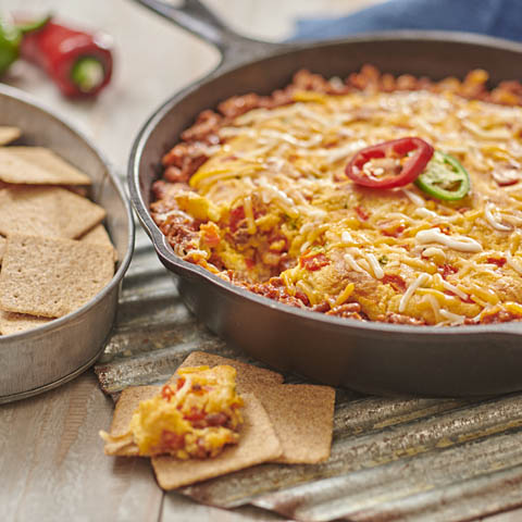 Cheesy Sweet Chili-Cornbread Dip Recipe
