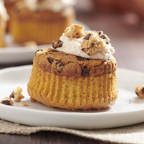 "CHIPS AHOY! ""Cinnamon Bun"" Cupcakes Recipe"