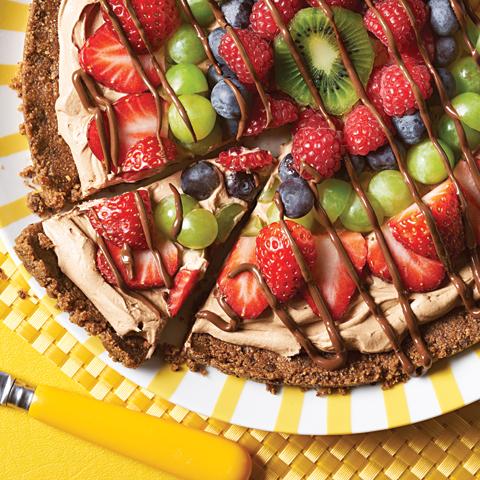 Pizza CHIPS AHOY! au chocolat et aux fruits  Recipe