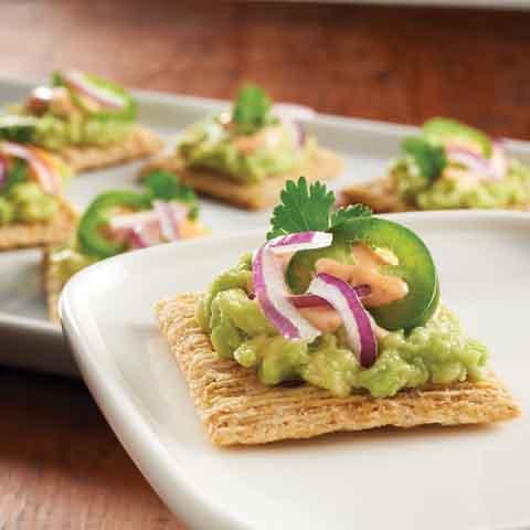 Guacamole TRISCUIT Topper Recipe