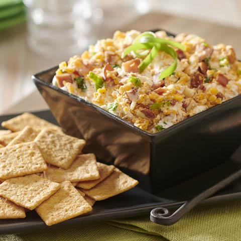 WHEAT THINS Smoky Cheddar Crunch Dip Recipe