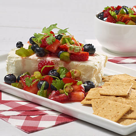 Mixed Berry Cheese Spread Recipe