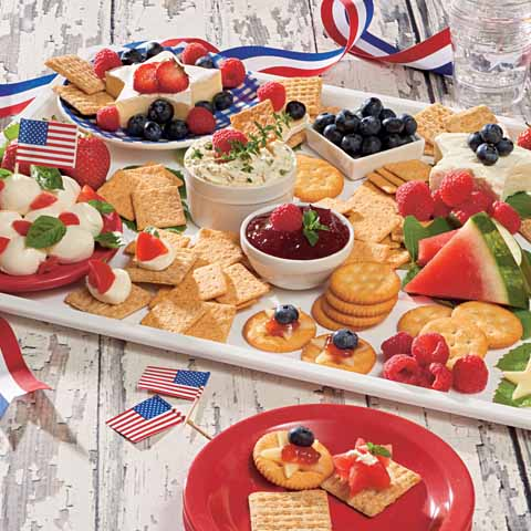 Summer Fruit and Cheese Board Recipe